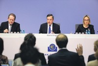 European Central Bank keeps stimulus on track to aid economy