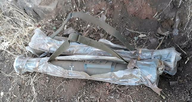 2 Swedish-made antitank missiles found in PKK hideout
