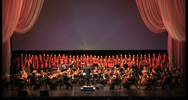 Istanbul State Opera and Ballet on stage with New Year's concert