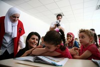 The U.S. ambassador to the United Nations, Nikki Haley, praised Turkish-U.N. cooperation on the Syrian refugee crisis on Tuesday, particularly education and healthcare services, during her meeting...