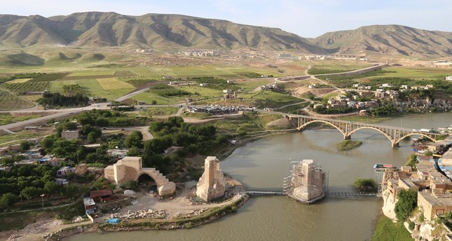 Batman's Hasankeyf expected to boost underwater tourism