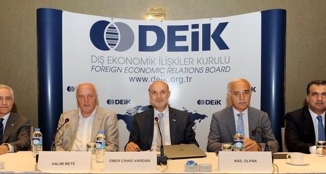 DEİK issues emergency action plan against Gülenist coup attempt