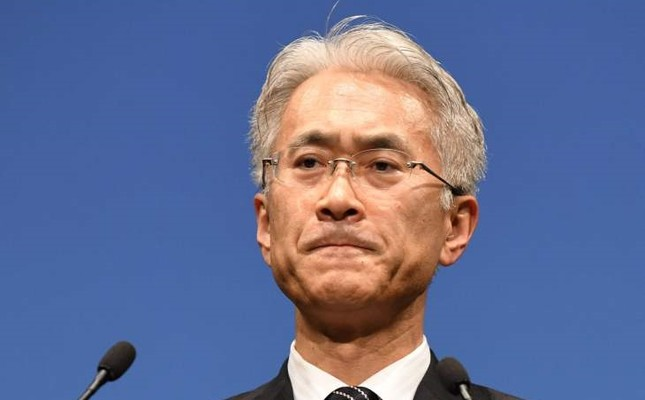 Sony deputy president and CFO Kenichiro Yoshida.