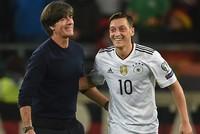 Özil return to German national team unlikely, coach Loew says