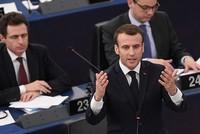 Macron warns against 'civil war-like' divisions in Europe