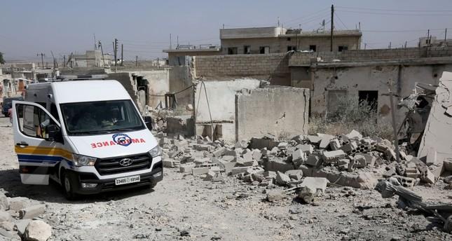 قصف للنظام السوري وروسيا يقتل 20 مدنياً في إدلب