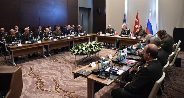 رؤساء أركان أمريكا وروسيا وتركيا بحثوا المشاكل الأمنية الإقليمية