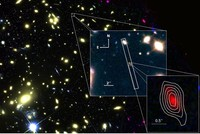 Oxygen detected in distant galaxy sheds light on early universe