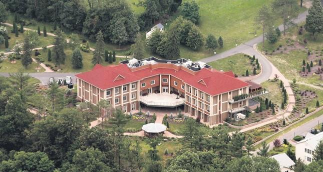FETÖ cult leader Fetullah Gülen's mansion in rural Saylorsburg, Pennsylvania, U.S.
