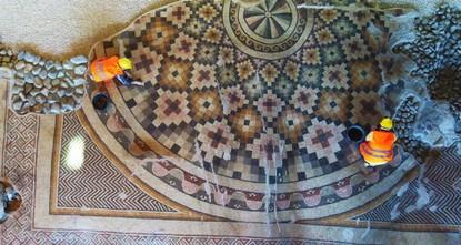 Une mosaïque massive s'ouvrira aux visiteurs à Hatay en Turquie