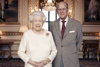Queen Elizabeth and husband Prince Philip mark their platinum wedding anniversary with a small family get-together on Monday, a far cry from the pomp and celebration which greeted their marriage 70...