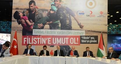 نائب رئيس الوزراء التركي يدعو الشعب لدعم حملة من أجل فلسطين