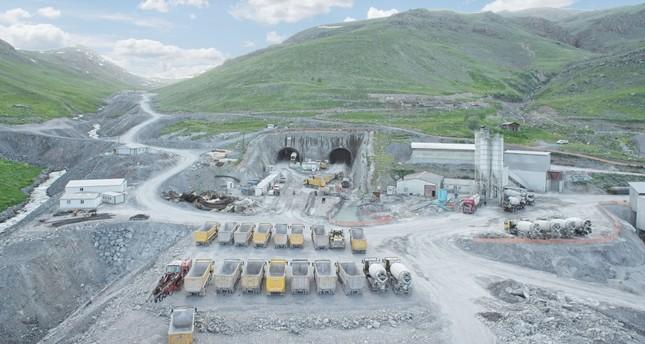 World's second longest tunnel Ovit to open year-end in eastern Turkey