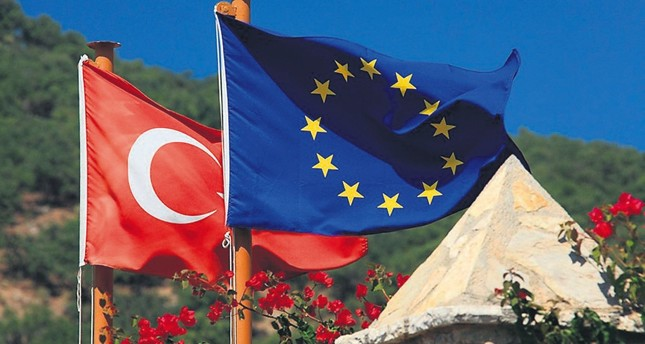 Positive remarks from Turkey and the EU politicians signal an easing of strained ties between Ankara and Brussels, but Turkey says it will not accept any deals other than full membership.
