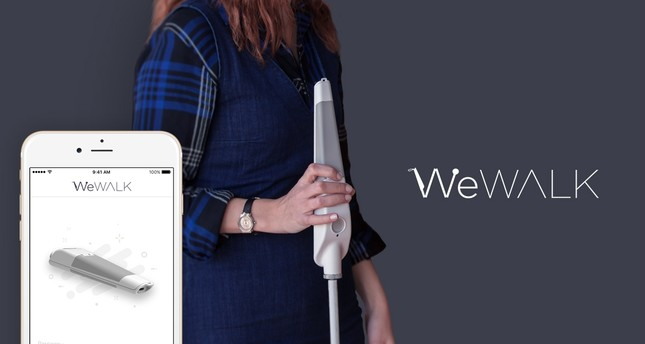 WeWalk is a smart walking cane designed to make life easier for the visually impaired.