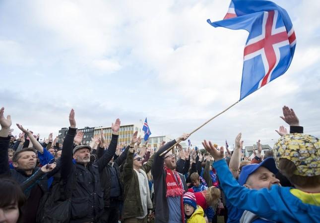 Iceland celebrates biggest victory