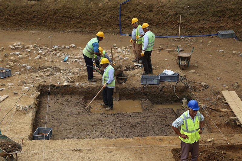 Ancient human remains discovered in Istanbul metro construction site