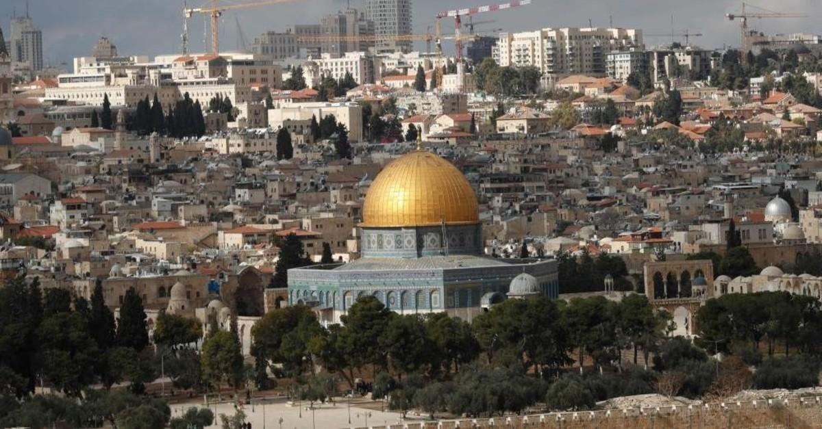 Jerusalem is a popular city for Turkish visitors. (AFP Photo)