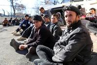 مهاجرون غير شرعيين من وسط آسيا تم اعتقالهم في تركيا (أرشيفية)