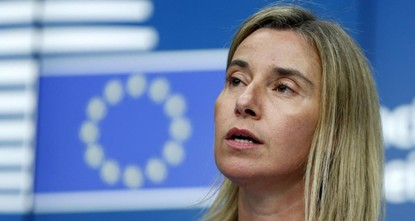 pThe EU's foreign policy chief on Monday said a realistic solution for Jerusalem has to come through direct negotiations./p