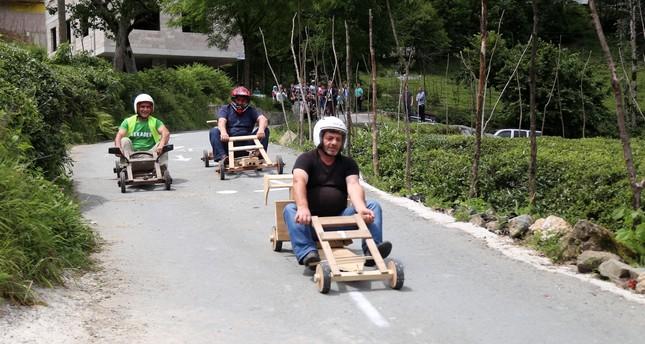 People in Black Sea region enjoy Laz Rally