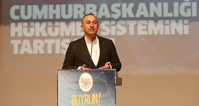 جاوش أوغلو: هدف تركيا في سوريا هزيمة داعش