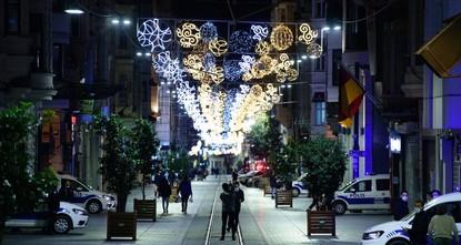 أكثر من 8 آلاف مخالفة حظر تجوال ليلة رأس السنة في إسطنبول