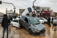 Flash floods in Iran kill at least 18, injure 74