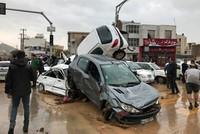 Flash floods in Iran kill at least 18, injure 74