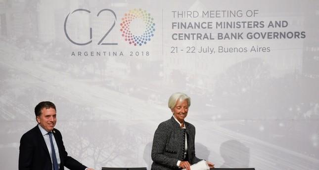 انطلاق أعمال اجتماع وزراء مالية مجموعة العشرين في الأرجنتين