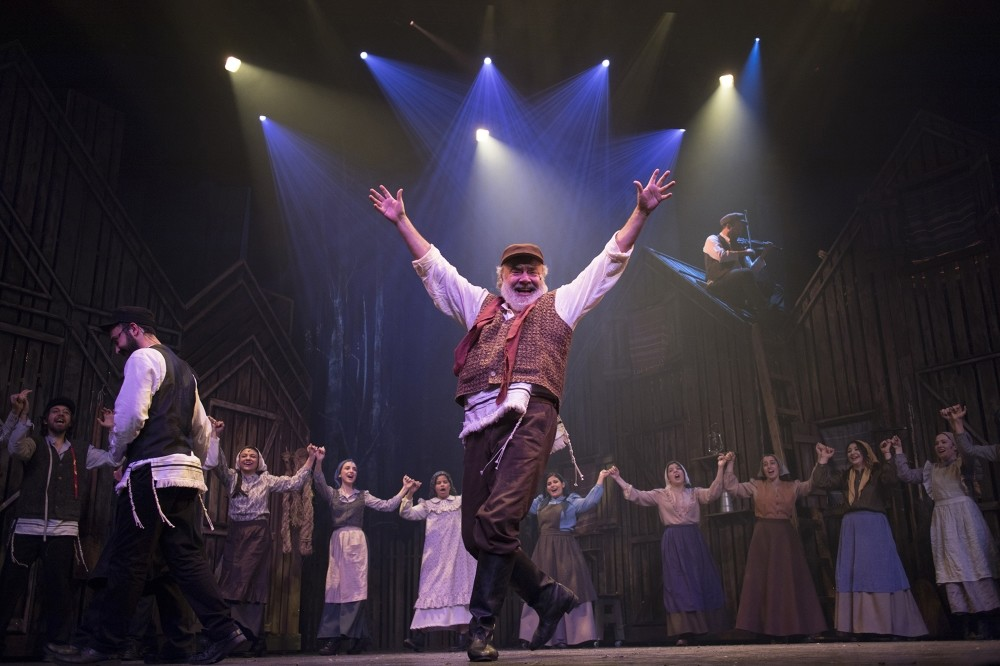 Image from the play ,Fiddler on the Roof.,