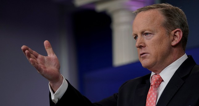 White House Press Secretary Sean Spicer holds his daily briefing at the White House in Washington, June 6, 2017. (REUTERS Photo)