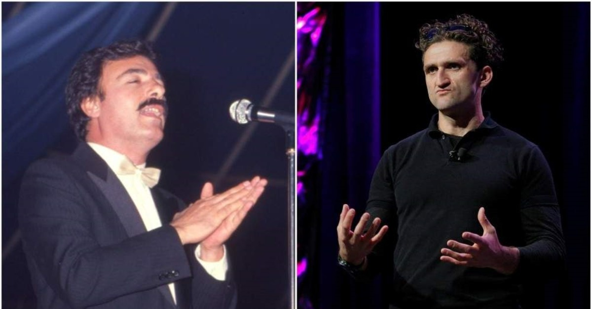 Combination of images shows Turkish arabesque singer Ferdi Tayfur (L) and Youtuber Casey Neistat. (FILE/Reuters Photos)
