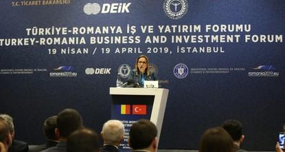 Turkey, Romania sign trade protocol to improve economic cooperation, Trade Minister Pekcan says