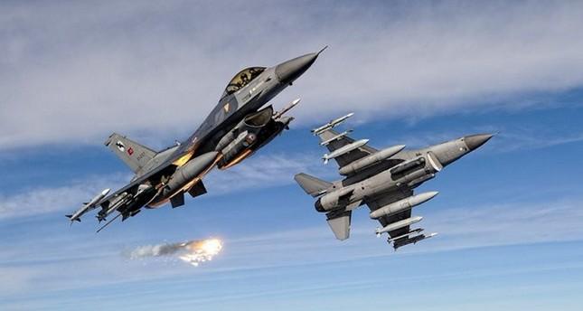 تحييد 9 من إرهابيي بي كا كا في غارات تركية شمال العراق