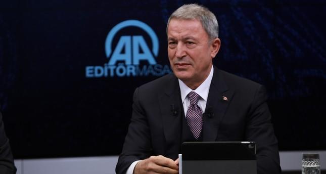 وزير الدفاع التركي: قواتنا قادرة على تولي الأمن بمفردها في المنطقة الآمنة شمالي سوريا