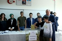 Politicians cast ballots in Turkey's June 24 elections