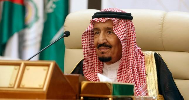 In this May 30, 2019, file photo, Saudi King Salman chairs an emergency summit of Gulf Arab leaders in Mecca, Saudi Arabia. (AP Photo)