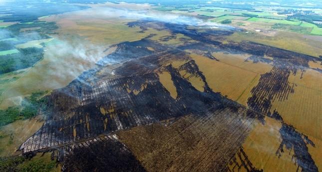 Niedersachsen: Moorbrand wird zum Katastrophenfall