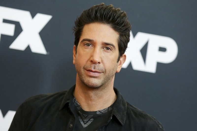 In this Jan. 16, 2016 file photo, David Schwimmer arrives at the 2016 FX Winter TCA in Pasadena, Calif. (AP Photo)