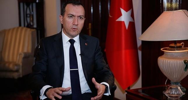 Ambassador Fatih Yıldız (AA Photo)