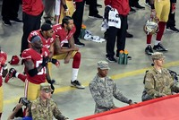 U.S. President Donald Trump on Friday launched a foul-mouthed tirade at NFL players who protest the playing of The Star-Spangled Banner at games, urging team owners to