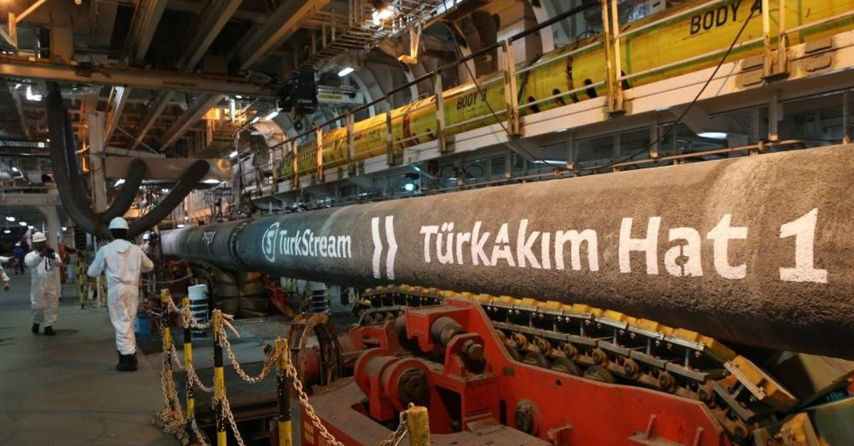 The TurkStream natural gas project is expected to consist of two lines across the Black Sea, the first of which will serve Turkey with a capacity of 15.75 bcm, while the second line is planned to serve Europe. AA