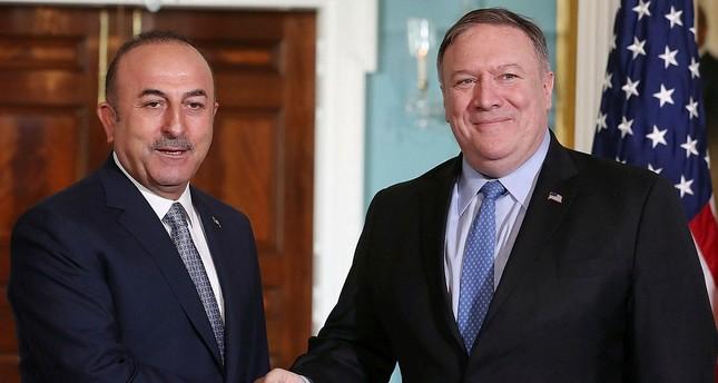 Çavuşoğlu, Pompeo hold phone call on Syria