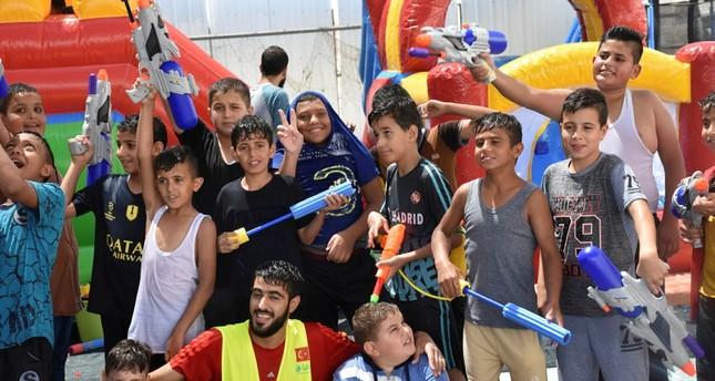 جمعية تركية تقيم مخيما صيفيا لأيتام القدس
