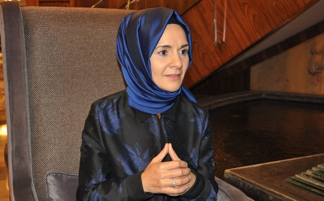 Mahinur Özdemir said it is challenging in Europe to be a Muslim woman and more specifically a Muslim woman pursuing a career in politics.