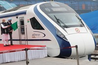 India's fastest train breaks down on first trip