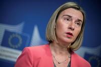Bloc sees Jerusalem as capital of two states, EU's Mogherini says