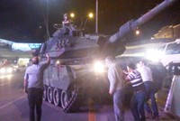A former lieutenant colonel who ordered 15 tanks to attack the Office of the Chief of General Staff on the night of the coup attempt on July 15 last year admitted to the court that he gave the...