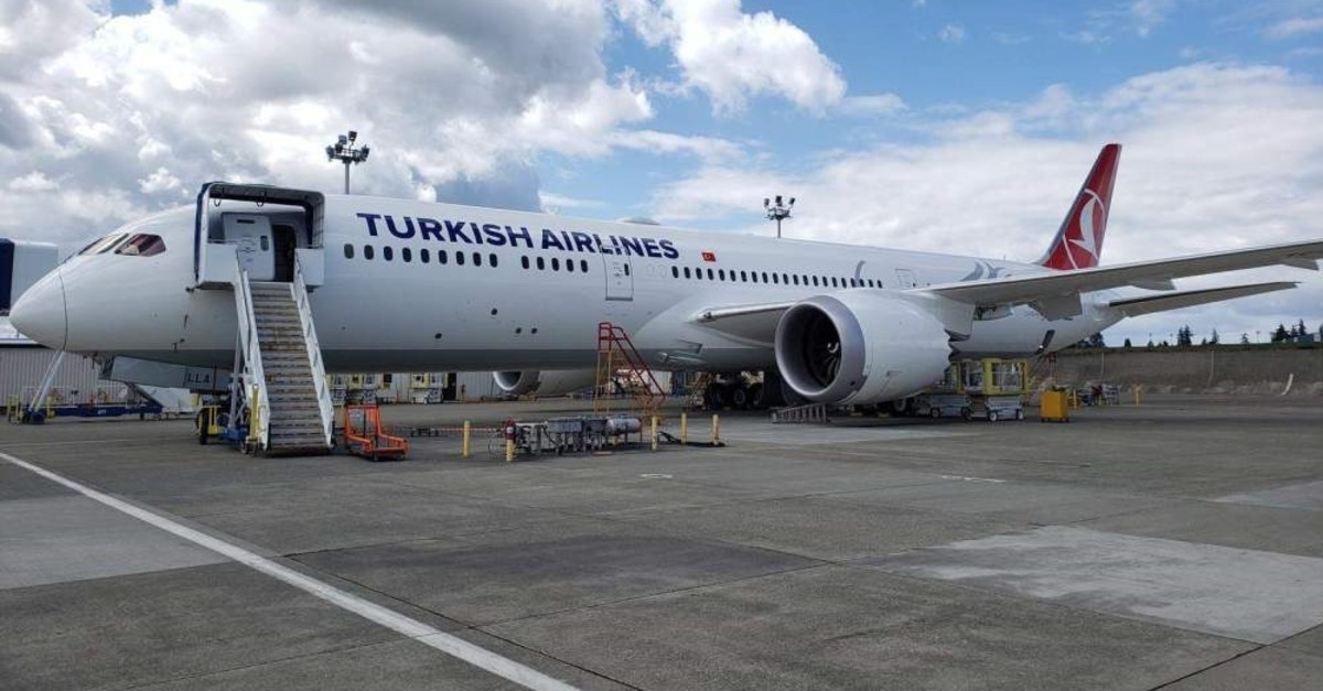 Boeing's state-of-the-art Dreamliner, which joined the Turkish Airlines (THY) fleet yesterday, stands out for its new cabin specially designed for the THY brand.